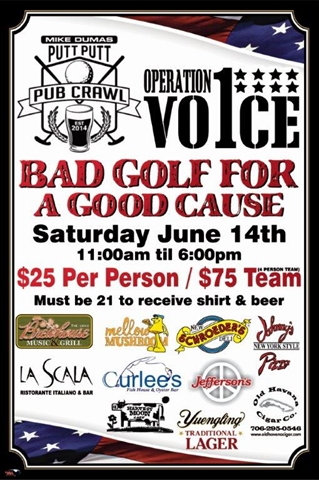 Bad Golf for a Good Cause