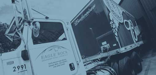 Supplier loads trucks to ship product to Eagle Rock